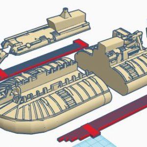 srn-6 hovercraft model kit